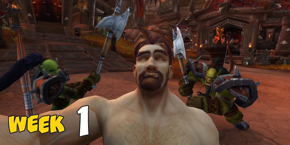 World of Warcraft: Übt schon mal das Duckface, WoW ruft Selfie-Wettbewerb aus