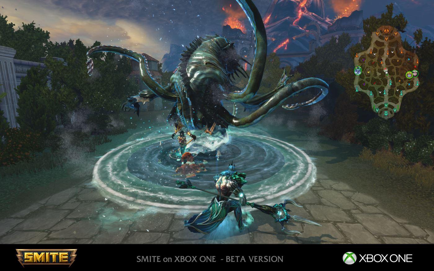 SMITE: Xbox One Release nähert sich, PC-Transfer möglich
