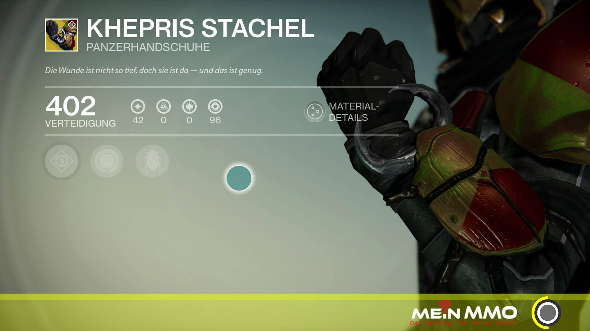 Destiny: Khepris Stachel – Lohnen sich die Jäger-Handschuhe für PvP und PvE?