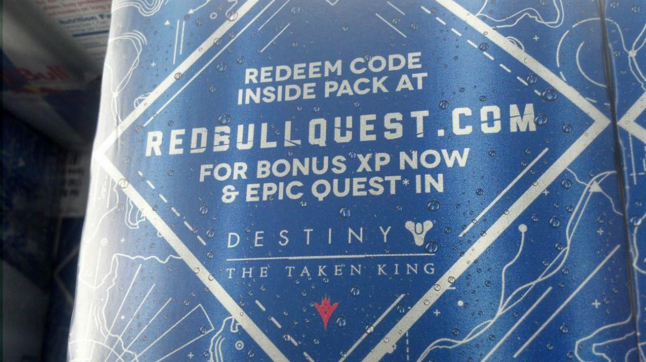 Destiny: Verleiht Red Bull bald Bonus-Exp?