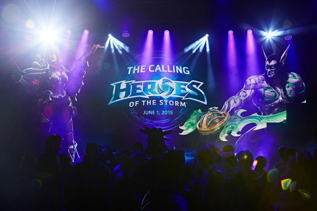 Heroes of the Storm: Eröffnungsevent mit genialen Effekten