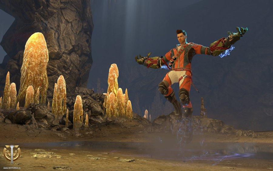 Skyforge: Der Kinetiker im Gameplay-Trailer  – Steinmagier mit einem Schuss Iron Man