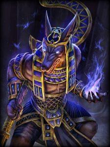 Smite Anubis gold