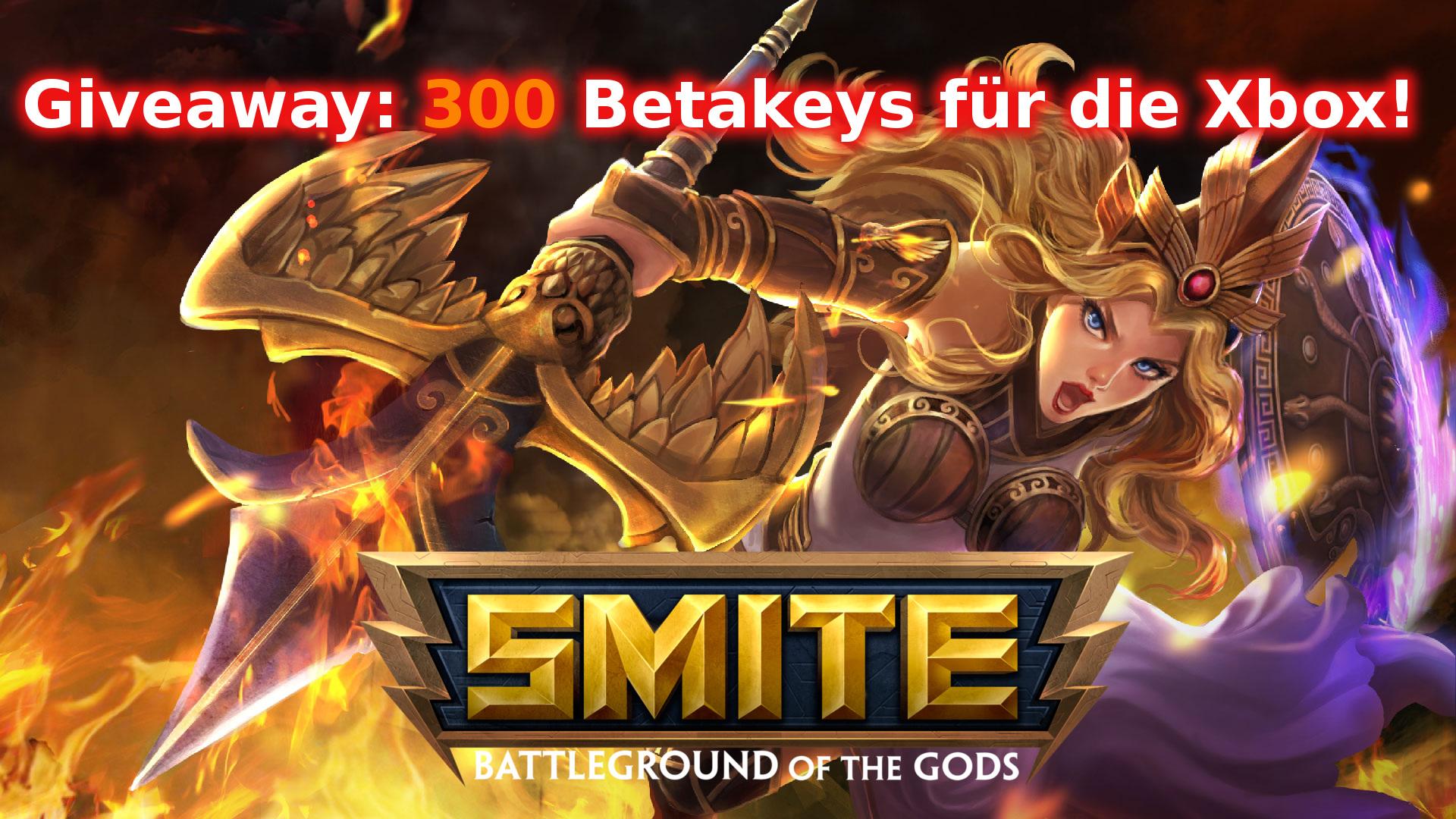 Giveaway: 300 Smite Betakeys für die Xbox One!