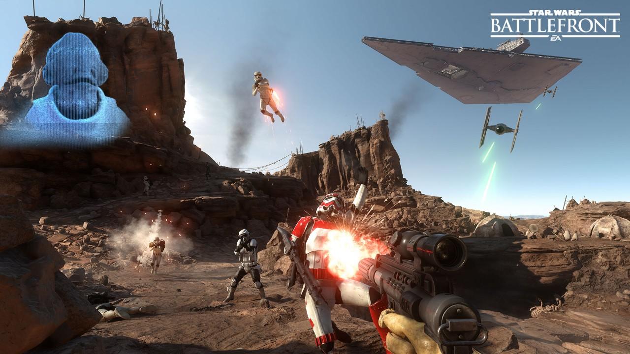 Star Wars Battlefront zeigt Solo/Duo-Missionen: Allein gegen das Imperium