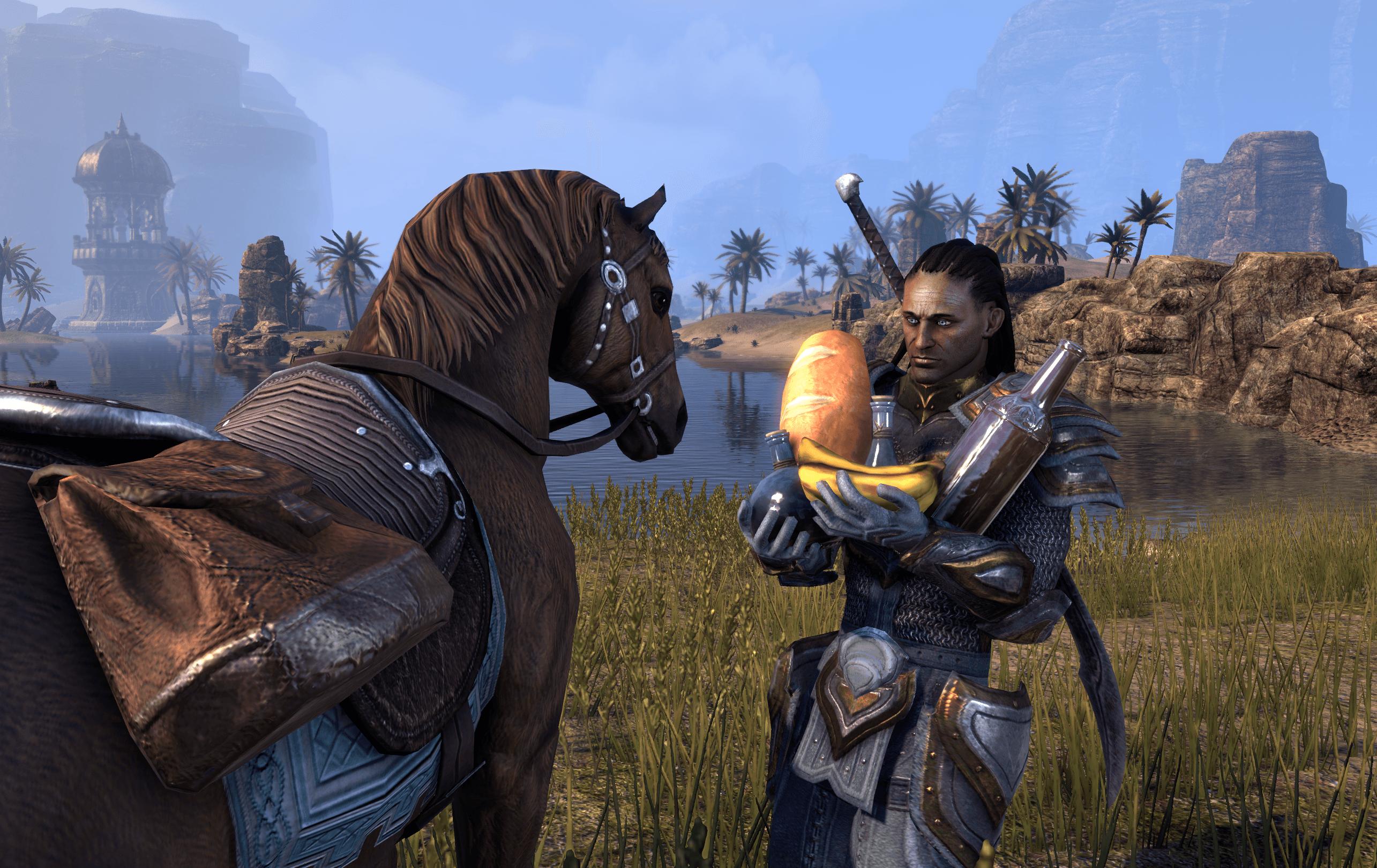 The Elder Scrolls Online: Pferde futtern nun (auch) Euros