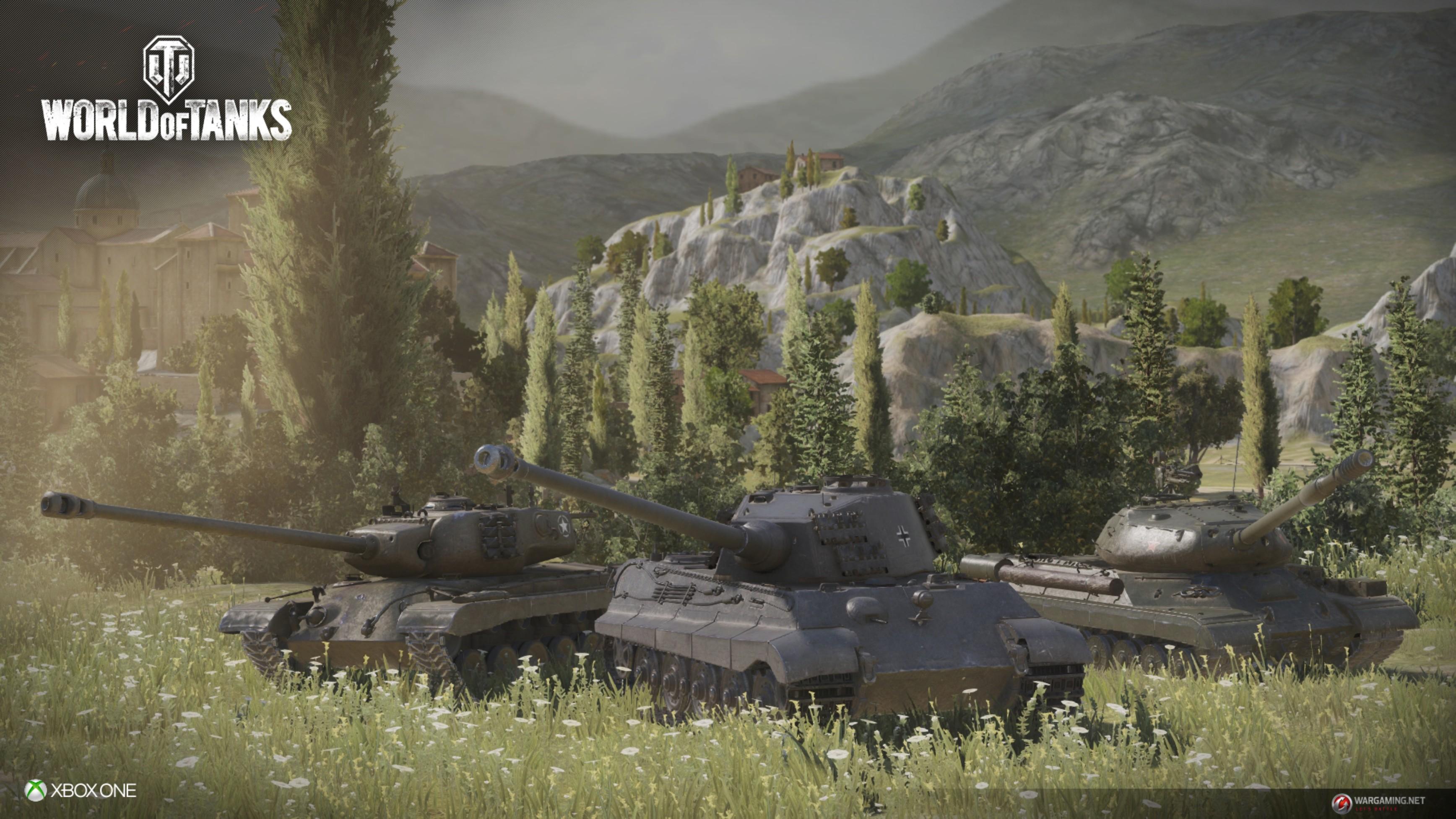 World of Tanks: Free2Play-MMO hat einen Release-Tag für die Xbox One