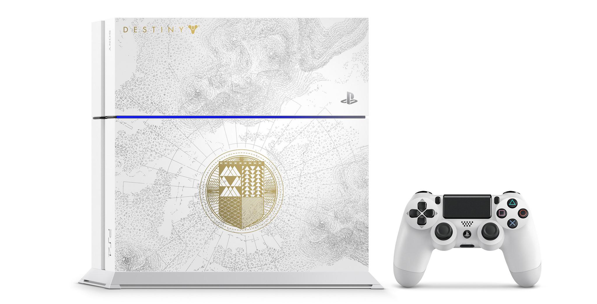 Destiny: Sony bringt eine weiße Limited-Edition der PS4 zu König der Besessenen