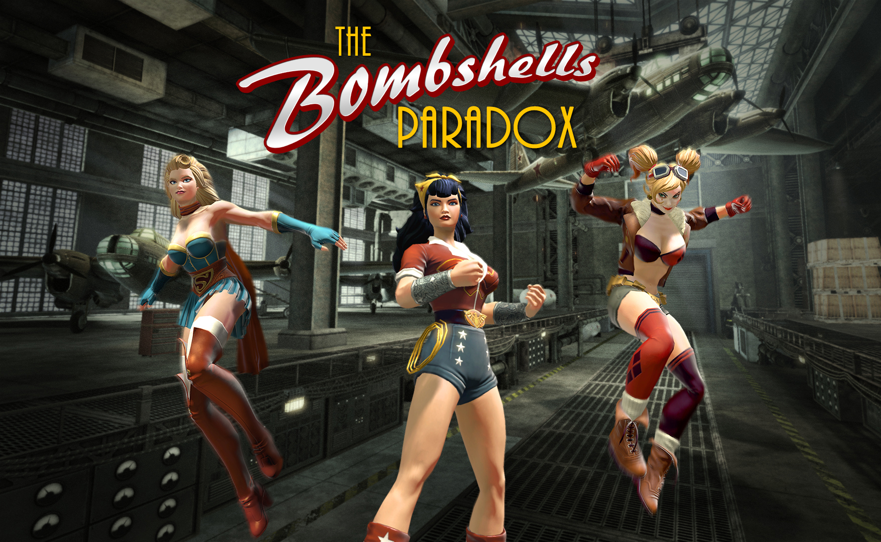 DC Universe Online: Im Trailer verprügeln Harley Quinn, Wonder Woman und Supergirl 40er-Jahre-Faschisten
