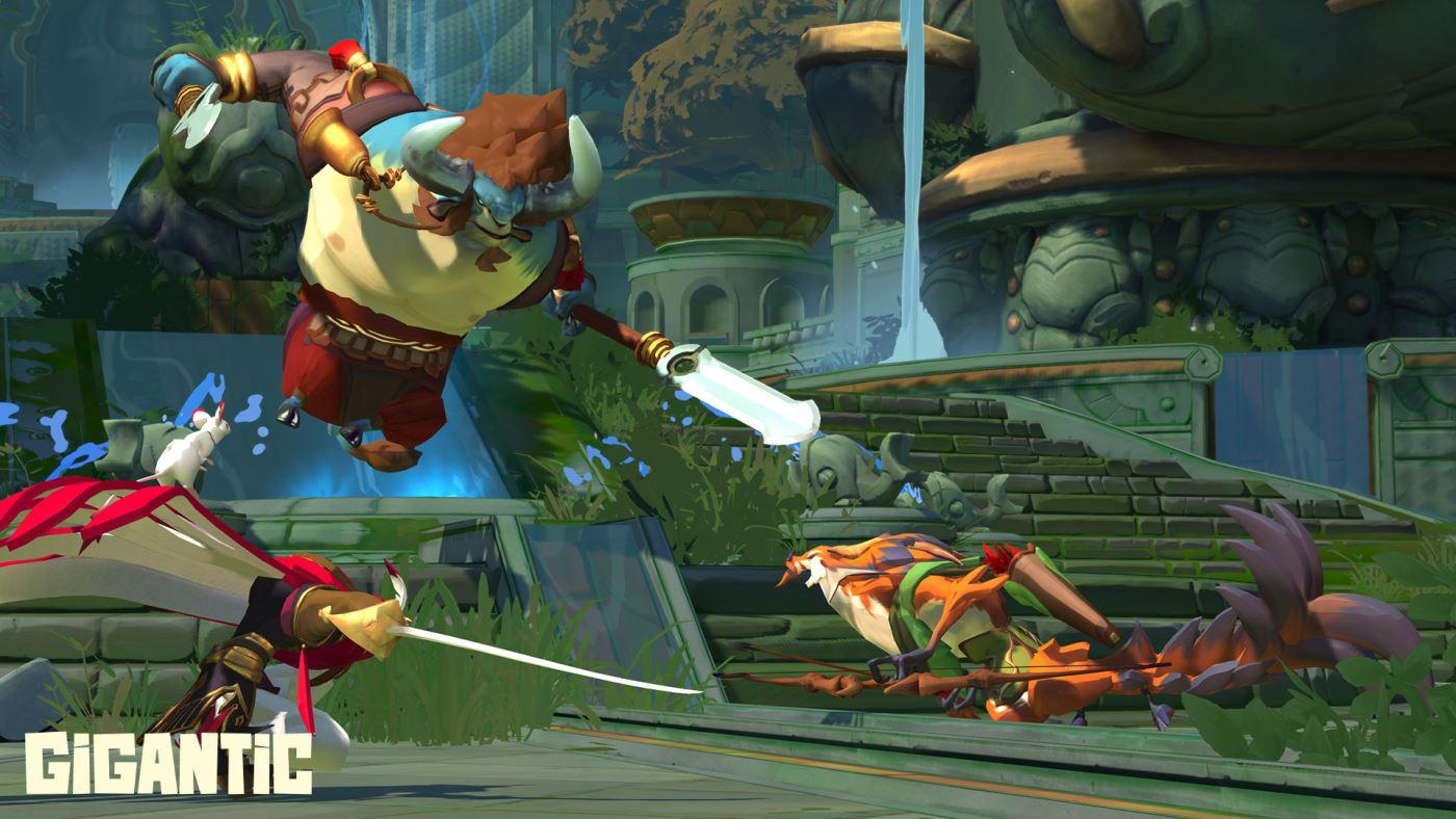 Gigantic: Kommt der MOBA-Shooter schon früh in 2016? Haben Xbox-Spieler den Controller-Nachteil?