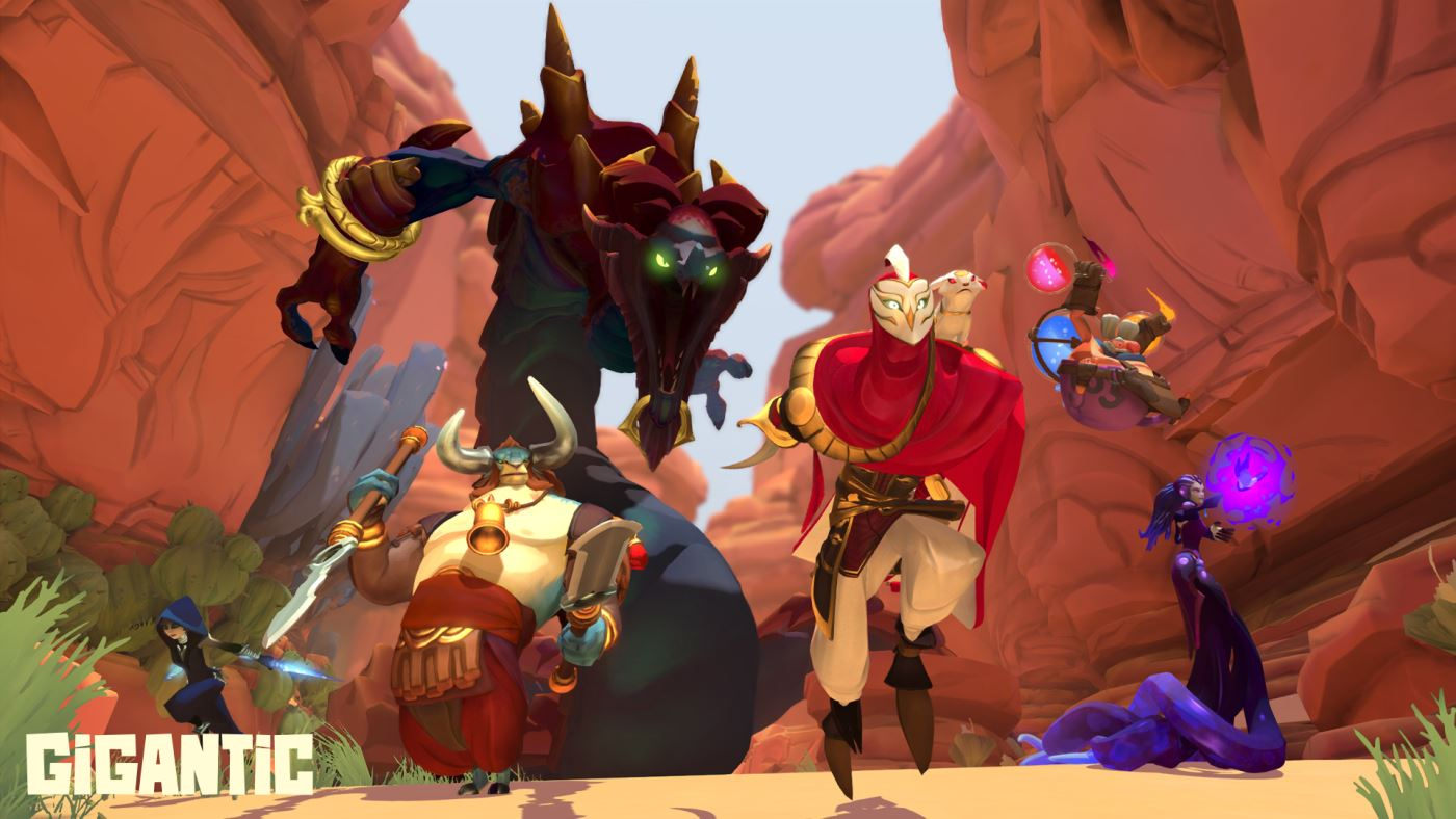 GIGANTIC: Neuer Free-to-Play MOBA-Shooter für Windows 10 und XBox One