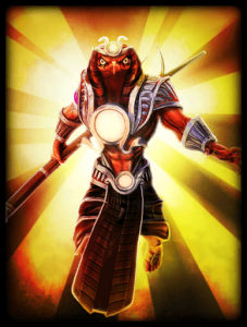 God Card Ra Solar Eclipse