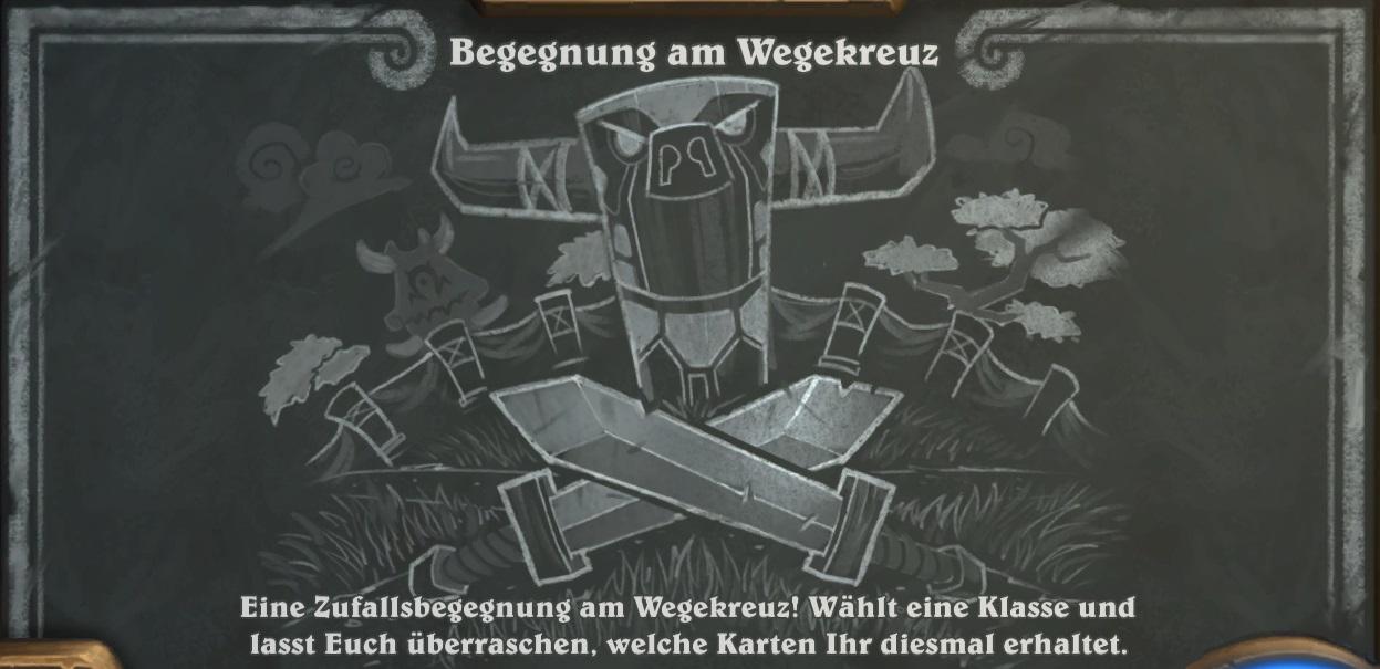 Hearthstone: Kartenchaos wiederholt Wegekreuz – mit neuen Karten!