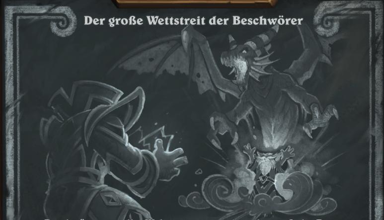Hearthstone: Kartenchaos wiederholt den Wettstreit der Beschwörer!