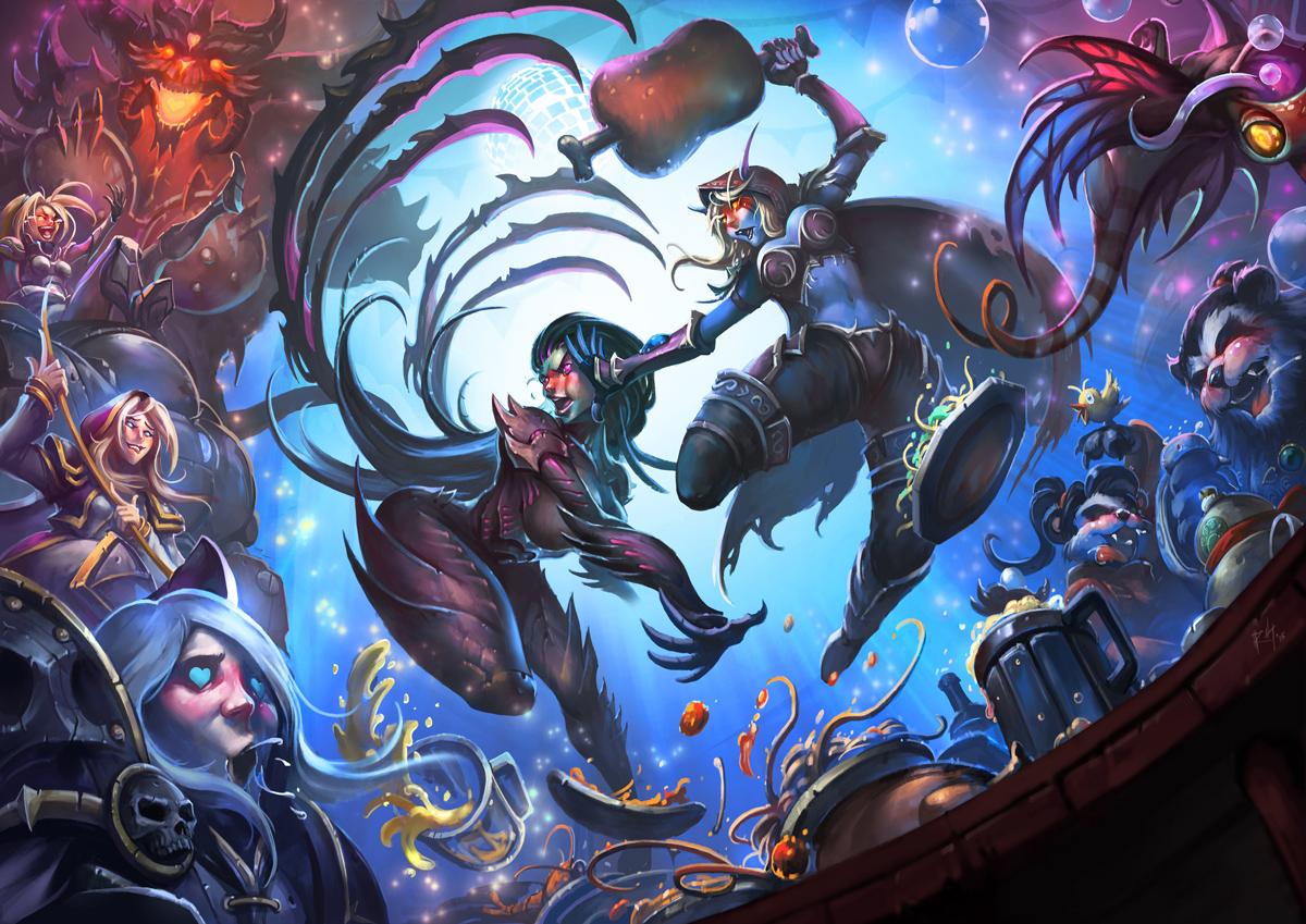Heroes of the Storm: Schaut Euch diese 4 Fankunstwerke an
