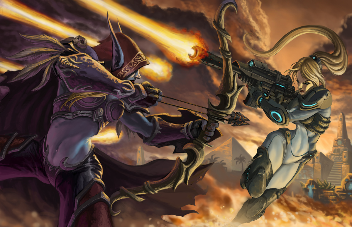 Heroes of the Storm: Redesign von Kael'thas, Sylvanas, Illidan, Gazlow und Tychus!