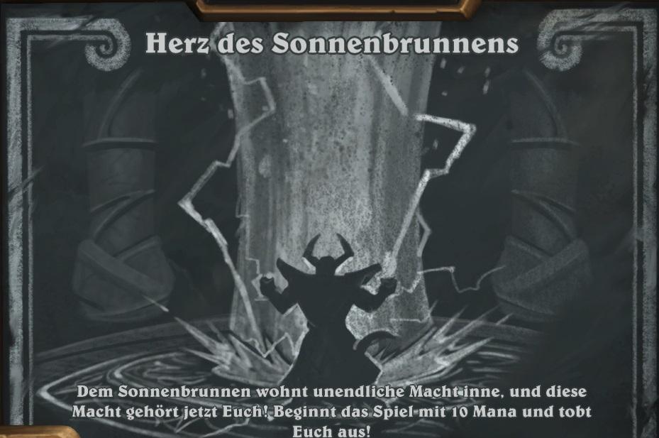 HearthStone: Sonnenbrunnen schenkt Euch im Kartenchaos vom 22.7. jede Menge Mana