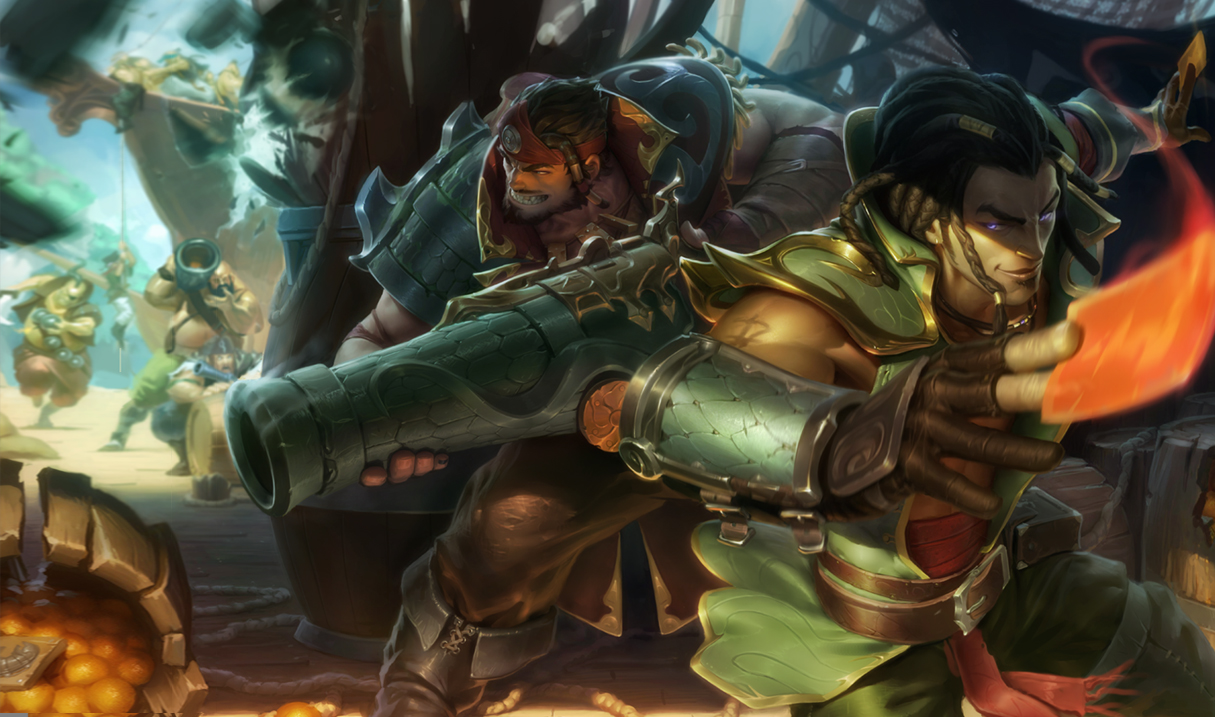 League of Legends: Neuer Spielmodus – Black Market Brawl!