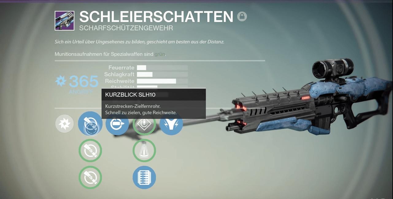 Destiny: Schleierschatten – Variks verkauft ein Scharfschützengewehr mit Stützrädern