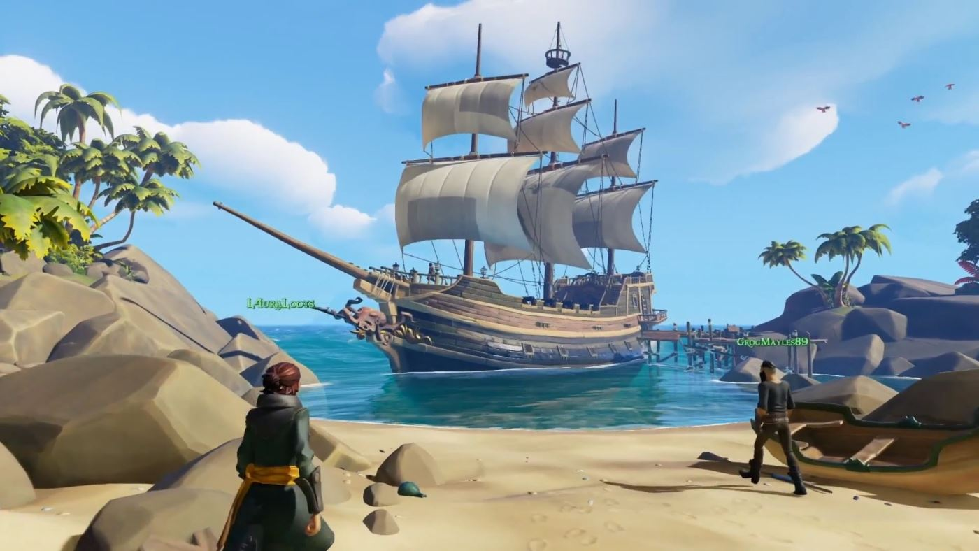 Sea of Thieves: Im Coop auf Schatzsuche – Multiplayer-Gameplay