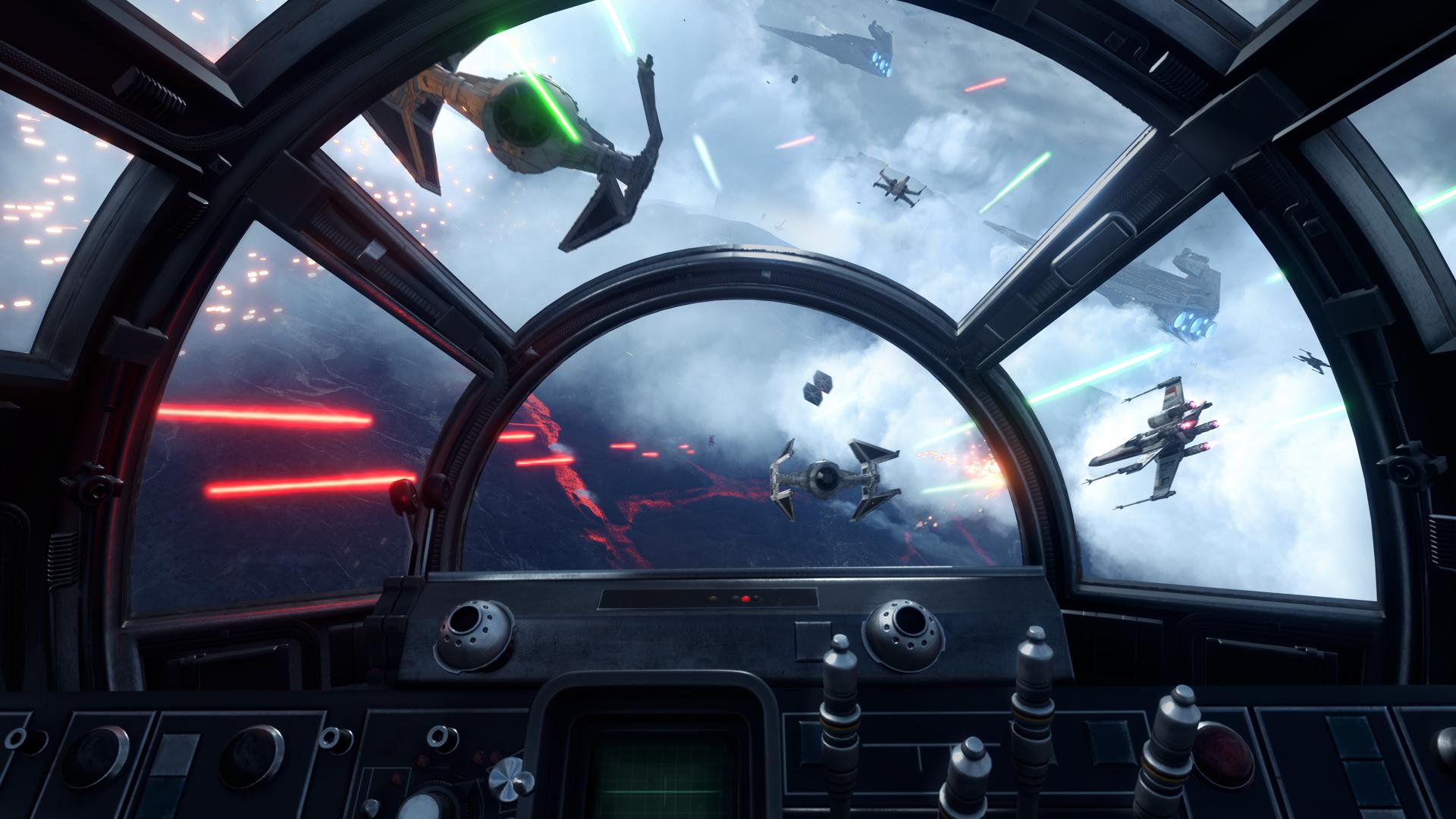 Star Wars: Battlefront VR-Version – Im Cockpit eines X-Wing (Video)