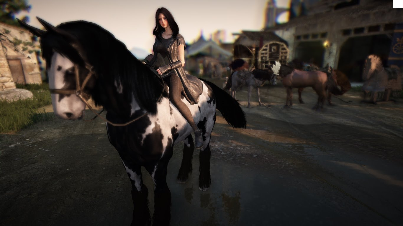 In Black Desert haben sie nun Pferderennen