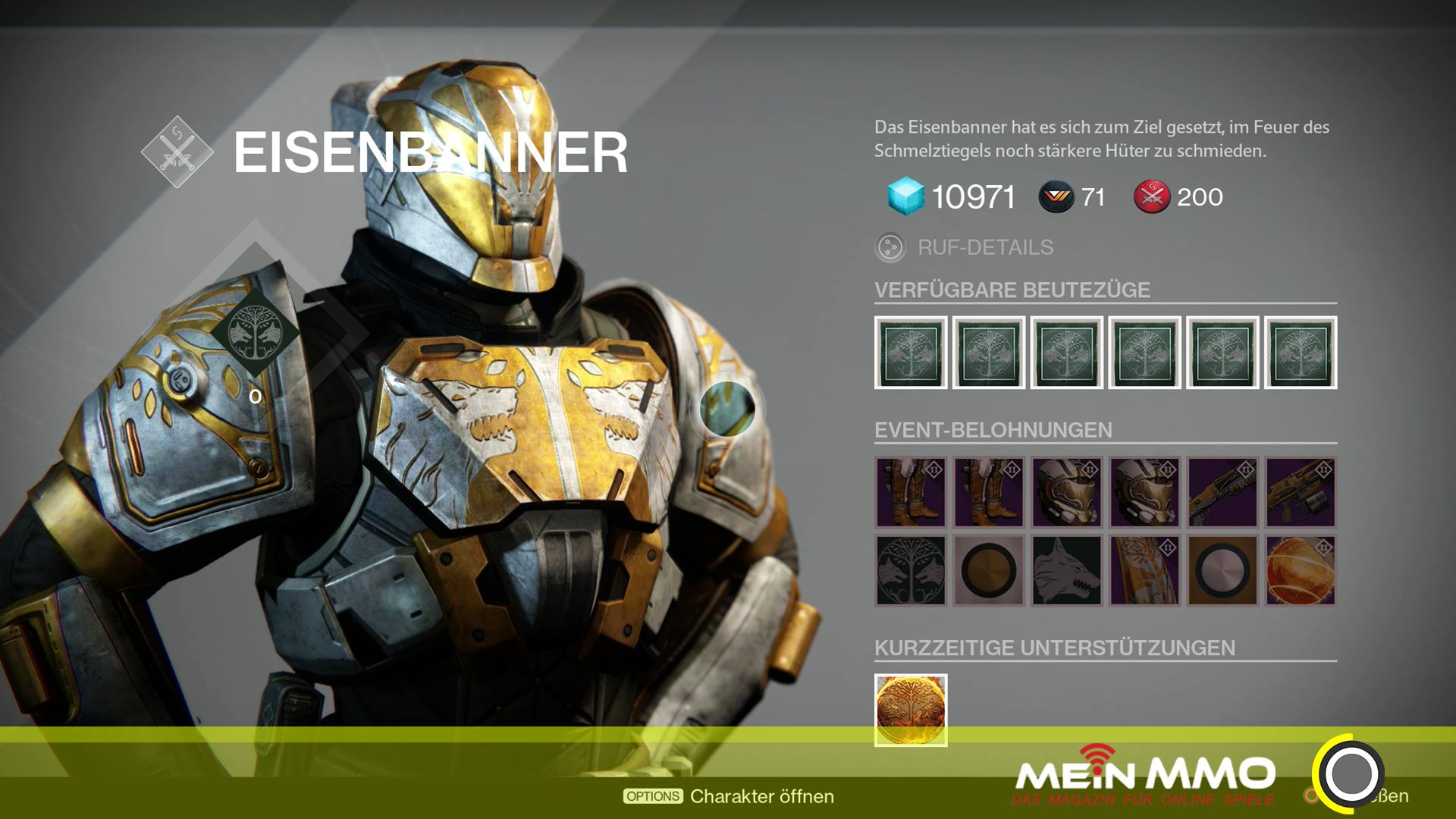 Destiny: Eisenbanner im August überraschend aktiv – das sind die Belohnungen