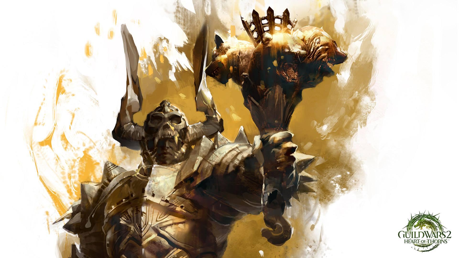 Guild Wars 2: Mit diesem Bild deutet ArenaNet die Elite-Spezialisierung des Kriegers an