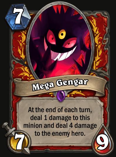 Hearthstone Fan pokemon Mega Gengar