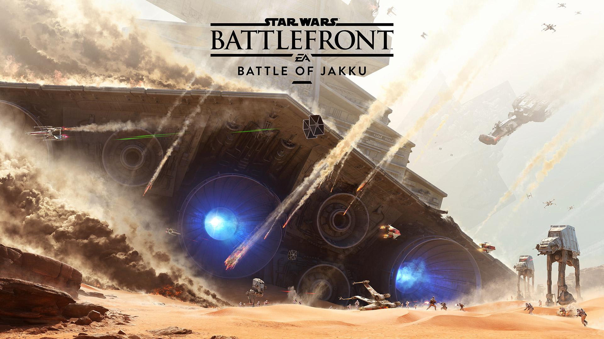 """Star Wars Battlefront: Erster DLC """"Schlacht von Jakku"""" bereitet auf Kinofilm vor"""
