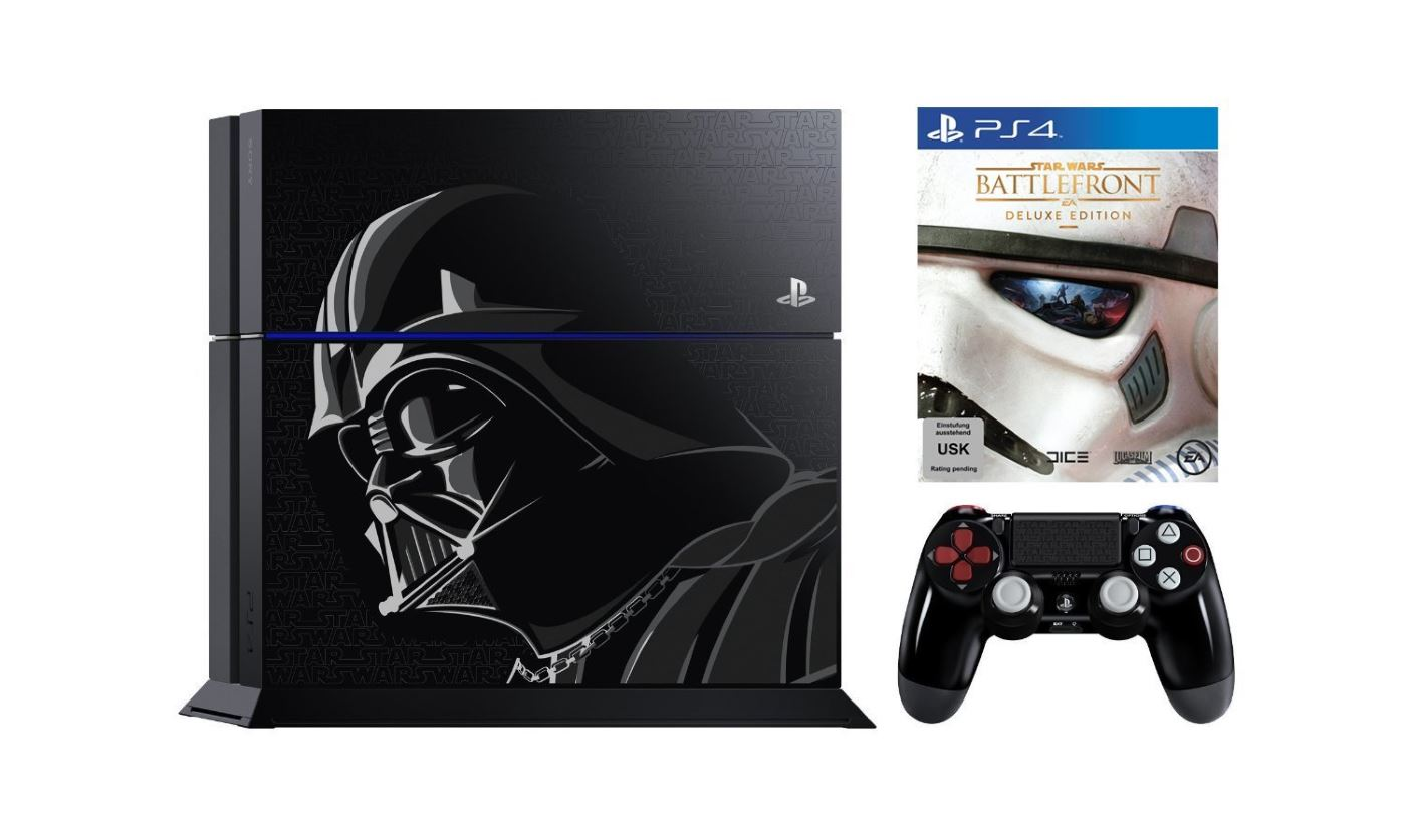 Star Wars Battlefront: Limitierte Playstation 4 mit Darth Vader nun vorbestellbar