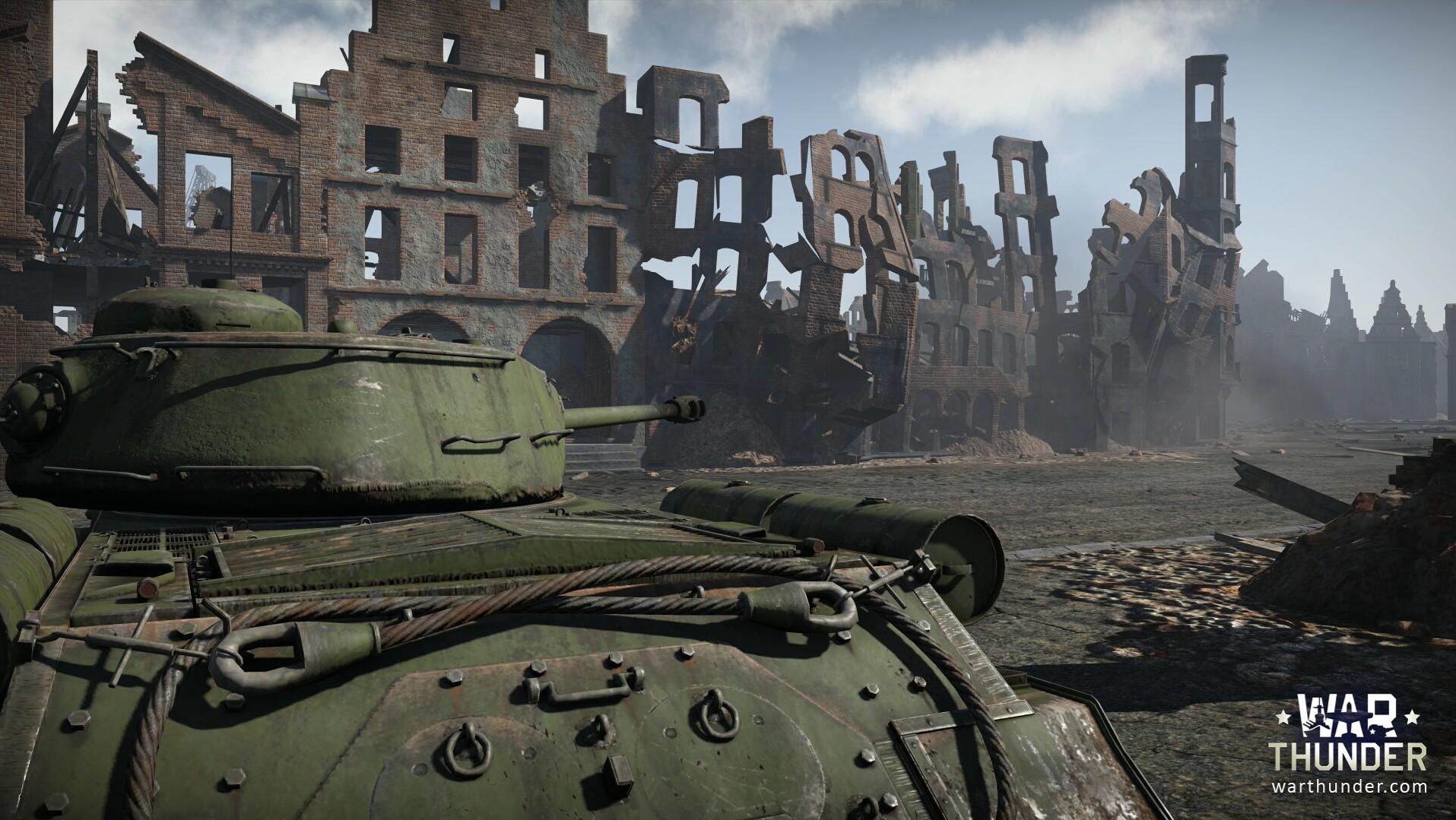 War Thunder: Der Panzer als Abriss-Birne