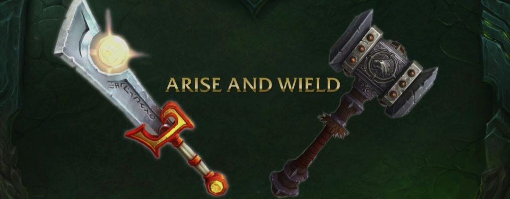 World of Warcraft: Legion – Alle Infos zu den Artefaktwaffen!