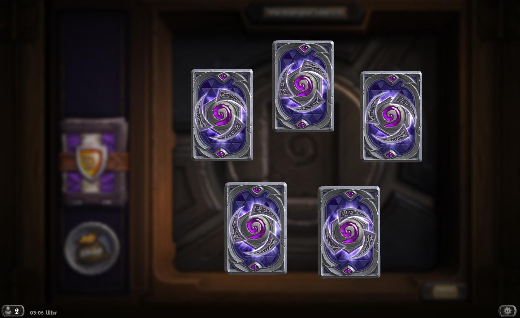 Hearthstone: Wie hoch ist die Chance auf goldene und legendäre Karten bei Großes-Turnier-Packs?
