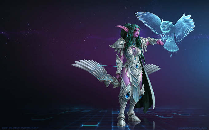 Heroes of the Storm Guide: Tyrande und der Damage-Build