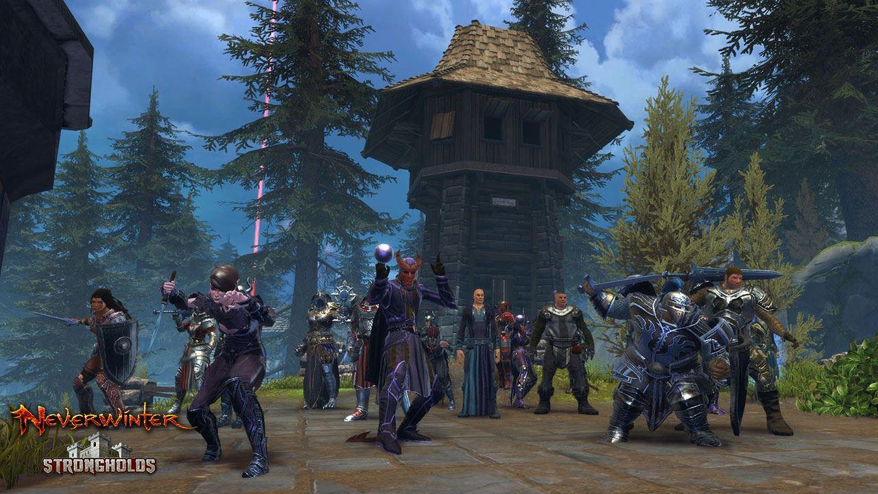 Gildenschlachten in Neverwinter:  Stronghold Siege ist live