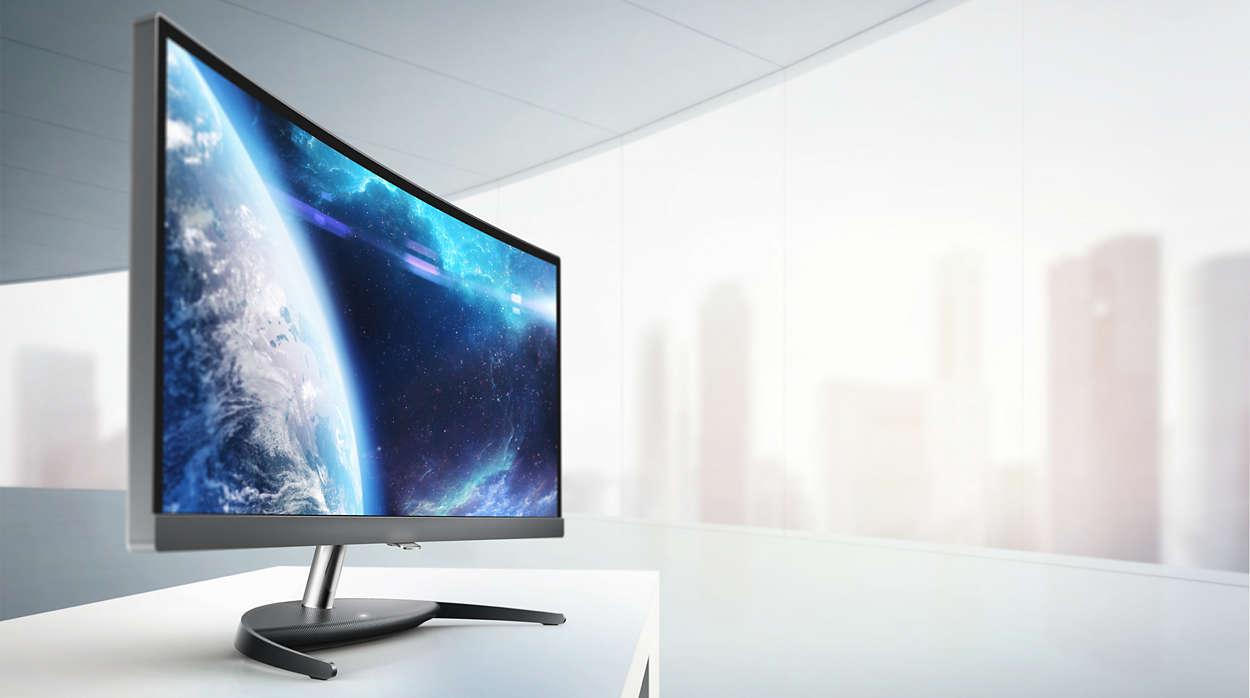 Curved-Technologie: Lohnen sich gebogene PC-Monitore?