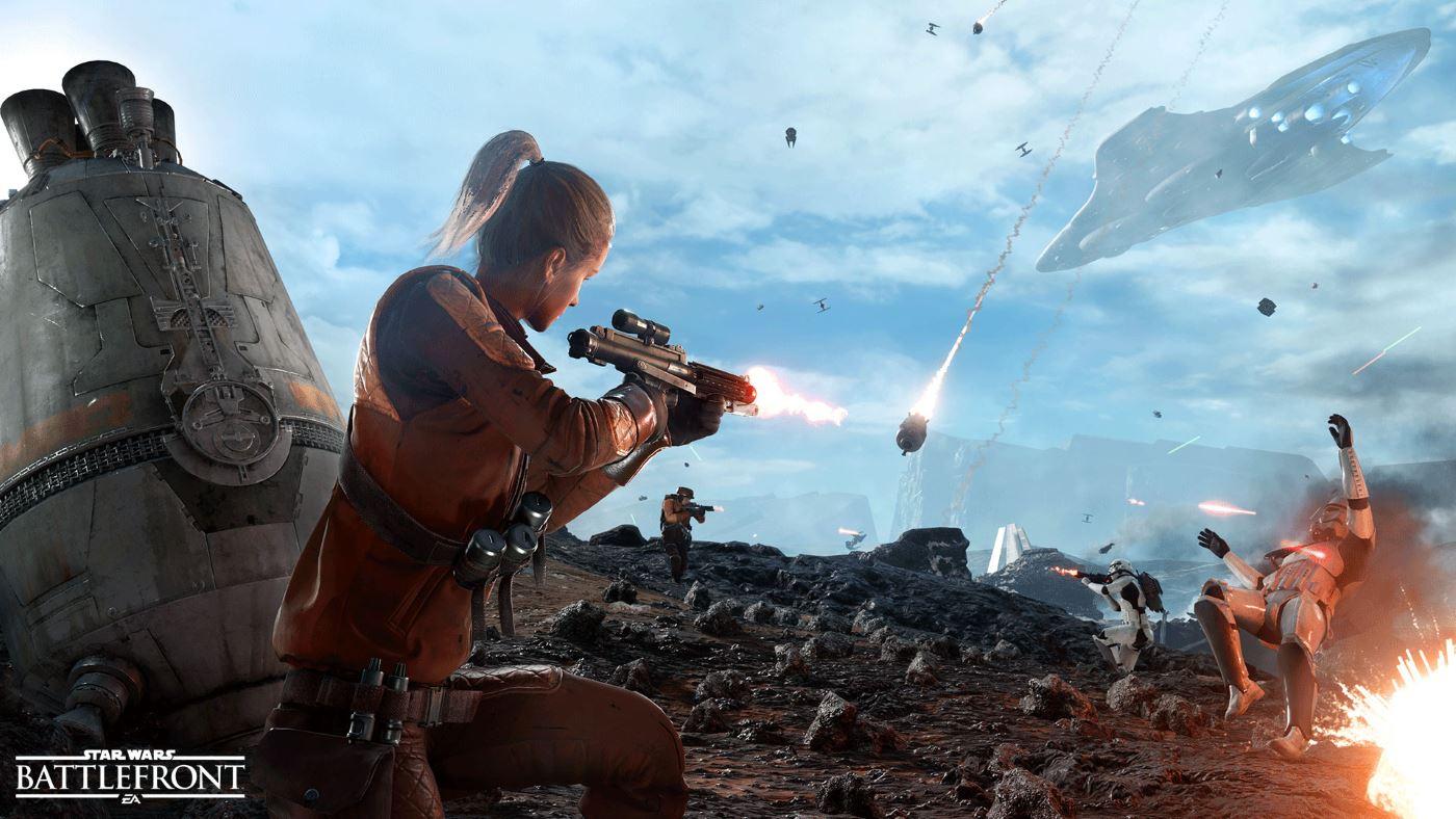 Star Wars Battlefront: Das SimCity unter den Shootern?