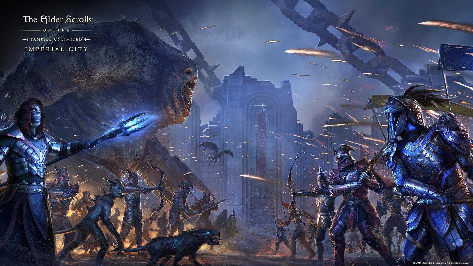 The Elder Scrolls Online: Kaiserstadt ist jetzt auf dem PC, Zugangs-Konzept wurde geändert