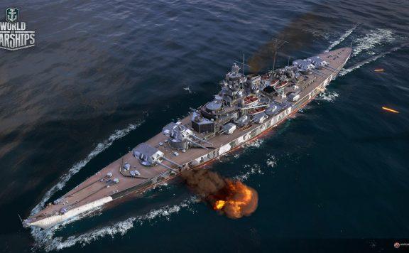 Warships-Tirpitz-Panorama