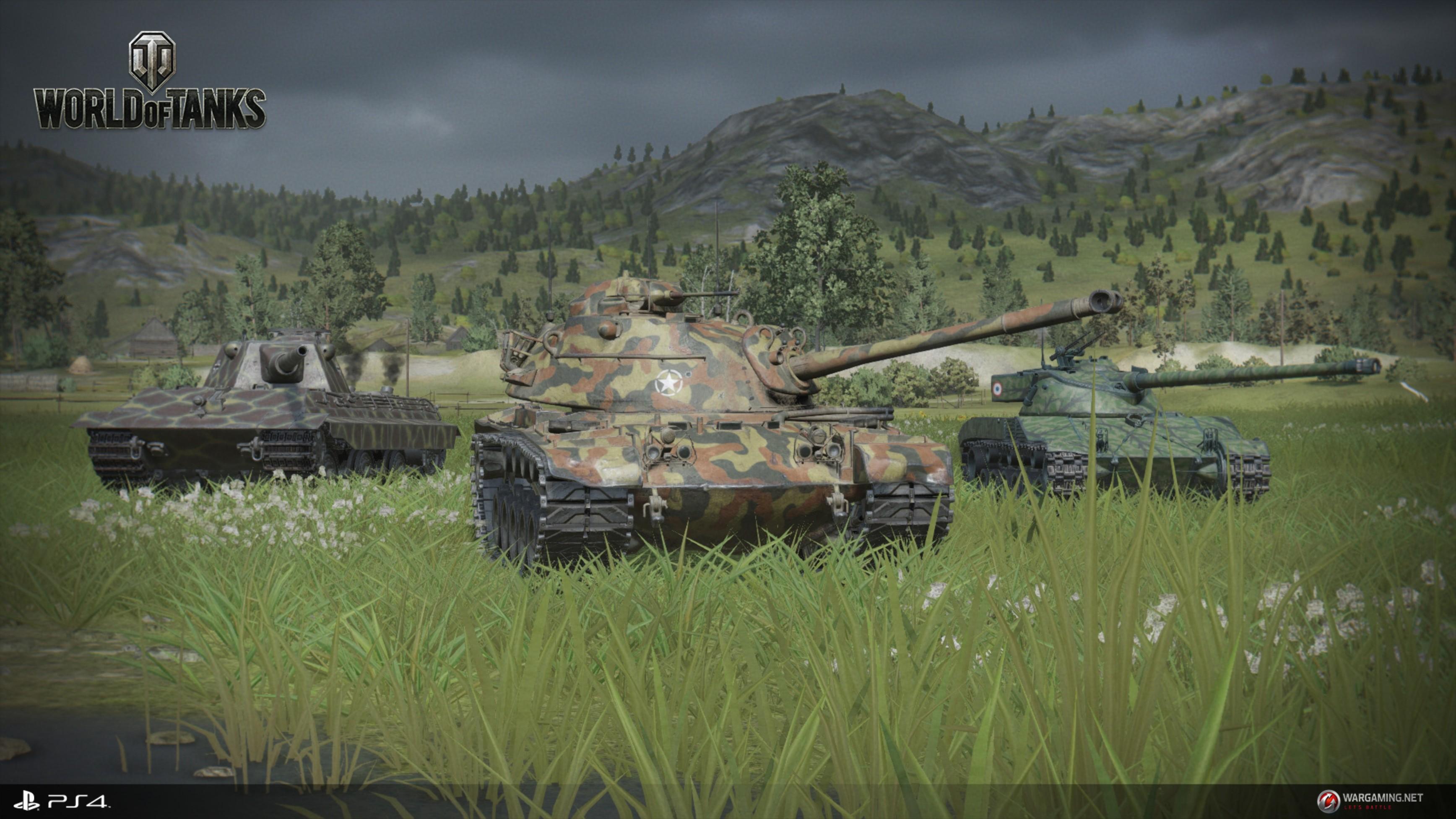 World of Tanks soll auf der Playstation 4 eleganter als auf dem PC aussehen