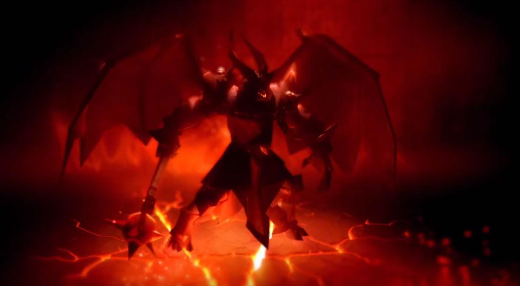 Der Dämonenprinz erwartet Spieler von Albion Online in der Closed Beta