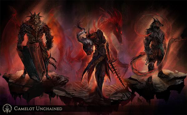 Camelot Unchained: Klassen-Trio der Shapeshifter enthüllt (Gestaltwandler)