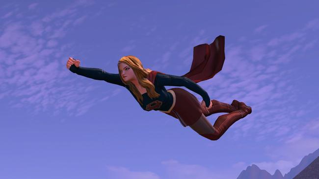 DC Universe Online verpasst Supergirl den Look aus der neuen TV-Serie