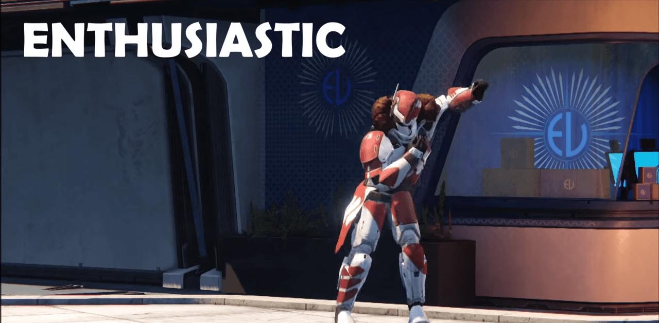 Destiny: Schaut Euch die 18 neuen Emotes an