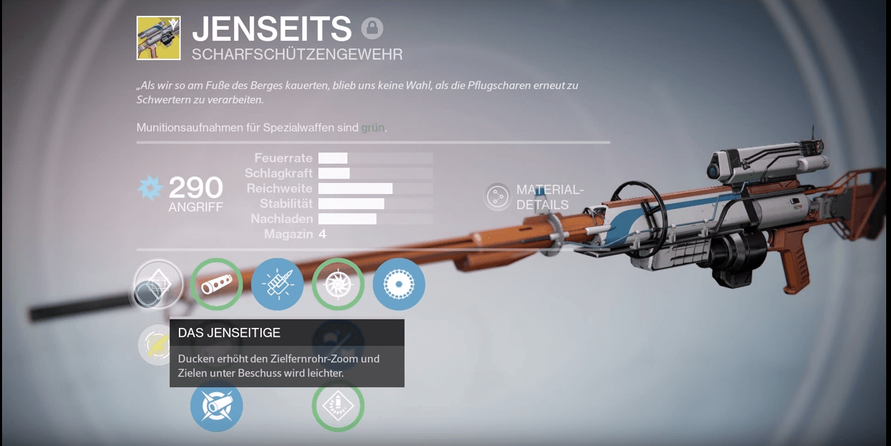 Destiny: Jenseits – das erste echte Scharfschützengewehr?