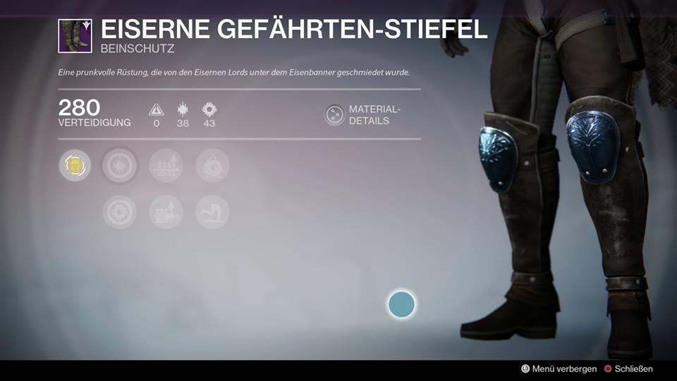 Eisenbanner-Stiefel