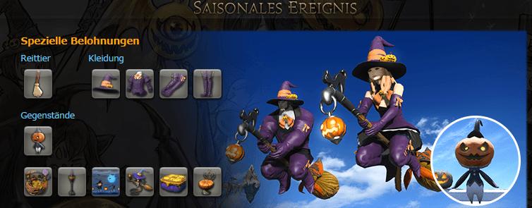 final fantasy halloween neue 31instanz und bald können