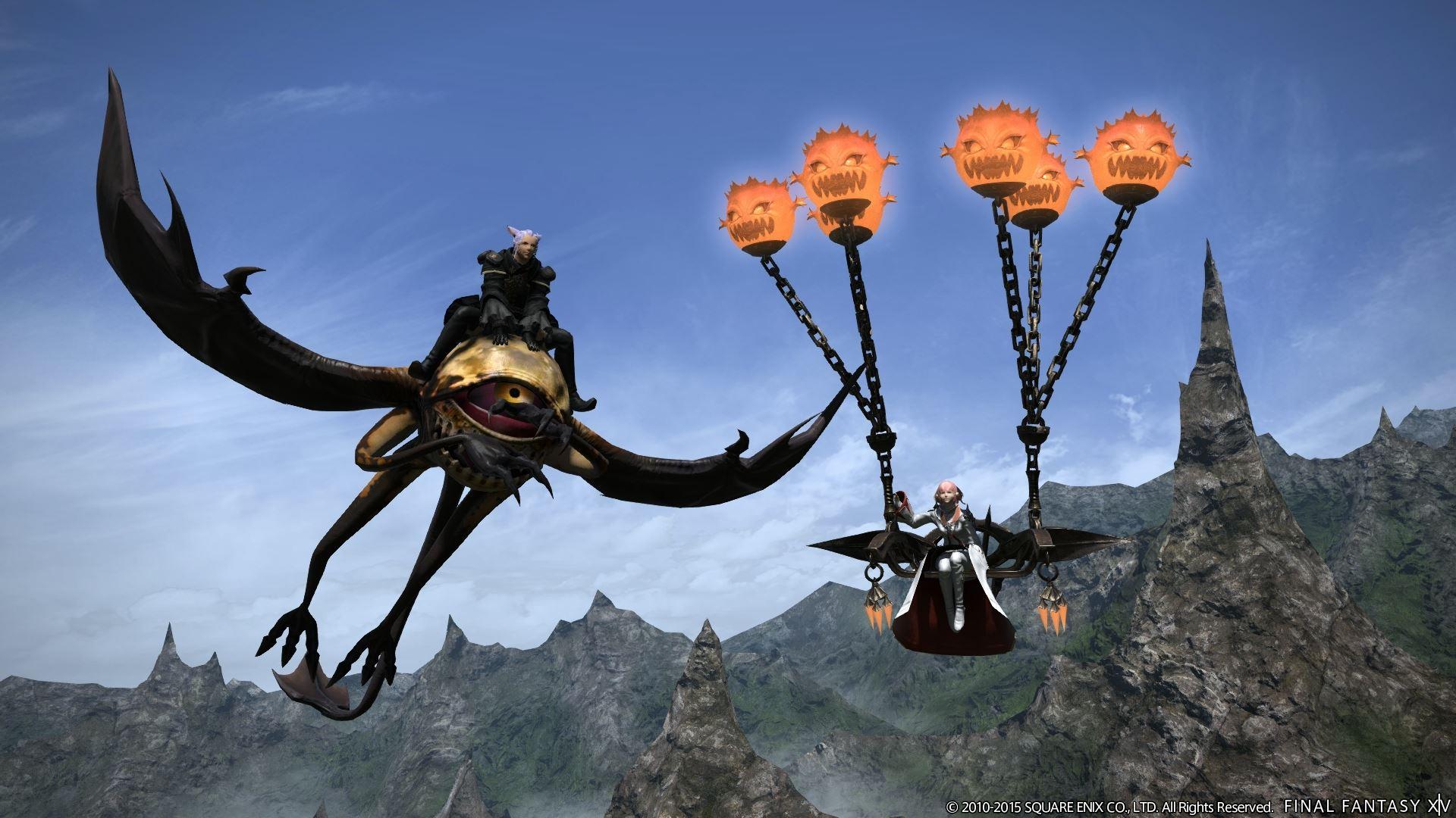 Final Fantasy: Halloween, neue 3.1-Instanz und bald können alle Viecher fliegen