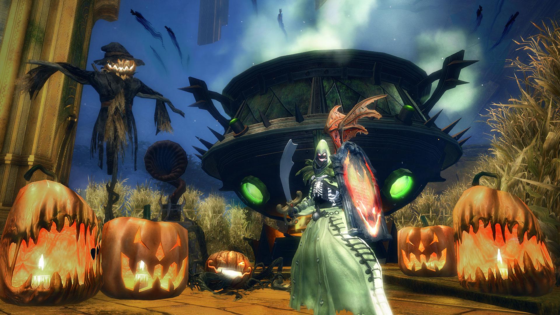 Guild Wars 2: Halloween-Event bringt Euch Fledermausflügel!